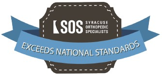 Syracuse Orthopedic Specialists Exceeds National Standards Badge