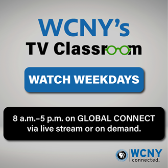 SOS Supports WCNY TV Classroom for Kids during Coronavirus
